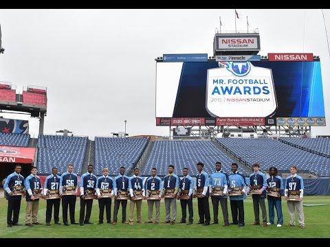 2015 Tennessee Titans Mr. Football Awards
