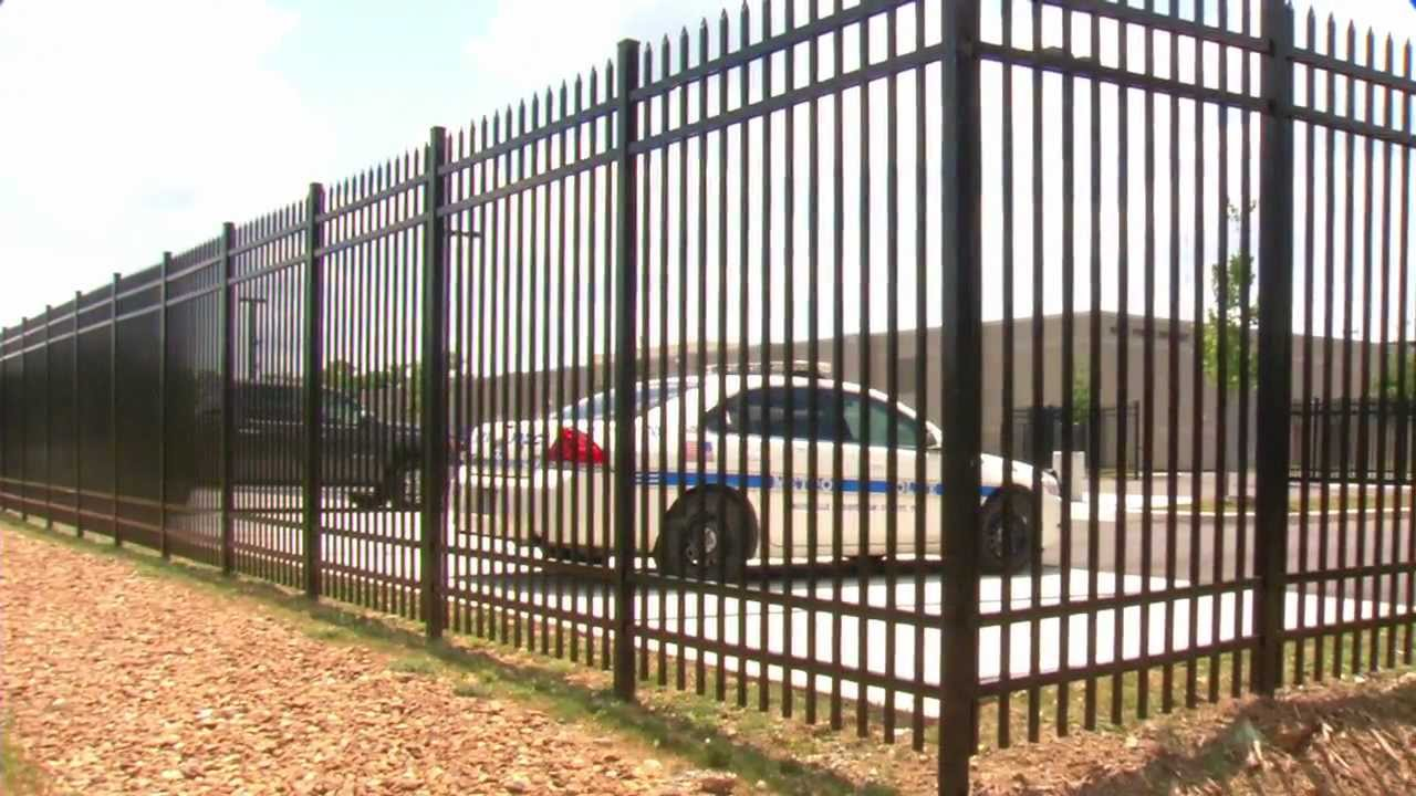 Commercial Fence Installation Rio Grande Fence Co Of