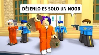 I HAPPEN BY NOOB IN JAILBREAk ROBLOX!