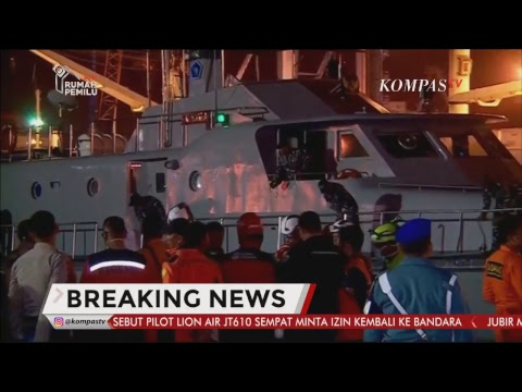Pesawat Lion Air Rute Jakarta - Pangkal Pinang Jatuh - BREAKING NEWS