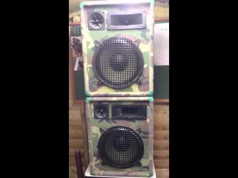 omnitronic cmx-1002 speakers 200w