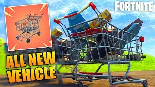 MAJOR NEWS! Fortnite Battle Royale Is Getting Its *FIRST* Vehicle!