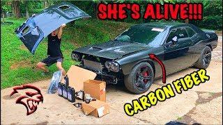 Rebuilding A Wrecked 2017 Dodge Hellcat Part 6