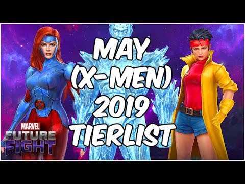 X-MEN RISE!! Best Heroes Ranked JUNE 2019 (191 Character Tier List) - Marvel Future Fight