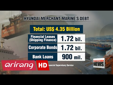 Hyundai Merchant Marine settles initial debt recast plan