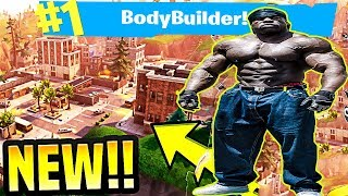 *NEW MAP UPDATE* - #1 BODYBUILDER FORTNITE PLAYER (SPONSOR GOAL 43/100) | Kali Muscle