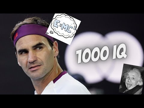 Tennis – When players have 1000 IQ (Genius plays)!!