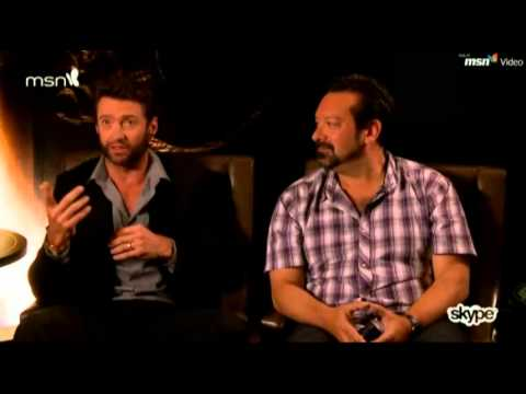The Wolverine chat on Skype   Hugh Jackman & James Mangold chatting about the new Wolverine movie