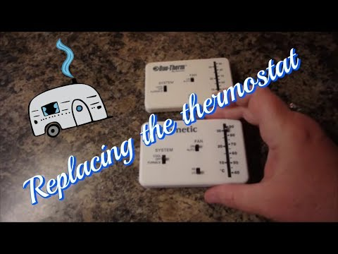 dometic rv thermostat replacement youtube rh youtube com