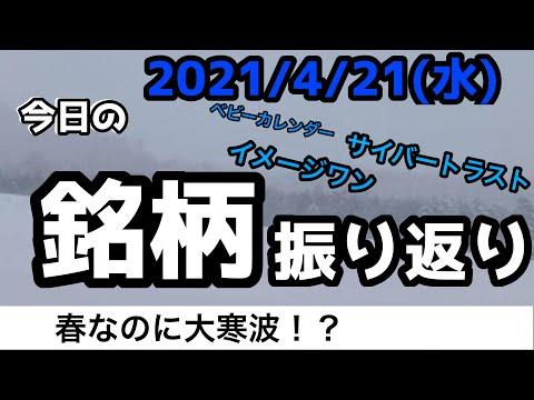 【相場振り返りシリーズ#168】2021年4月21日(水)~春なのに大寒波!?~