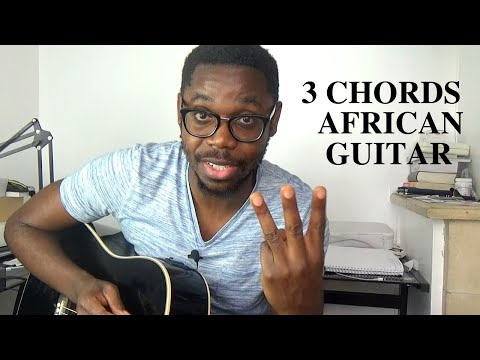 Easy way to play Congolese Rumba | Rhythmic guitar basis in the key of G