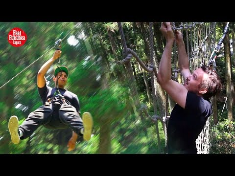 Forest Adventure Itoshima - Obstacle  And Adventure Park In Fukuoka