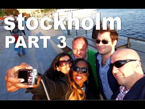 STOCKHOLM [part 3 of 4] | Drunken Street Parties Flak, Live R&B Music + Archipelago Boat Tour