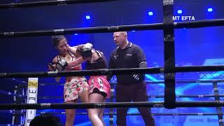 Soumeya Sammoudi (Valon Team) vs Wendy Jalain (Team Laidouni) - Partouche Kickboxing Tour