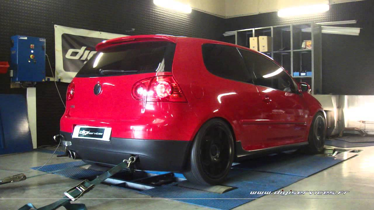 reprogrammation moteur vw golf 5 gti 200cv stage 2 270cv dyno digiservices paris youtube. Black Bedroom Furniture Sets. Home Design Ideas