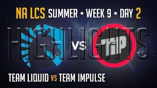 Team Liquid vs Team Impulse HIGHLIGHTS | Week 9 NA LCS Summer Split 2015 | TL vs TIP W9