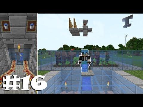 KÖYLÜ FARMI ve OTOMATİK TAŞIMA SİSTEMİ ! #16 Minecraft Survival Türkçe