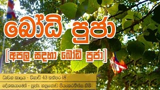 Bodhi Poojawa Kavi Gatha - Buddhist Puja Chantings By Hapugoda Priyankara Thissa Thero