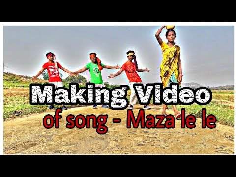 Making video of song cg maza le le || vis sid dance making...