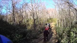 horse trekking in kaiyoudai hokkaido japan nov 2014 (北海道 開陽台 ホーストレッキング)
