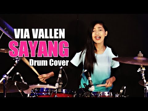 Via Vallen Sayang - Drum Cover by Nur Amira Syahira