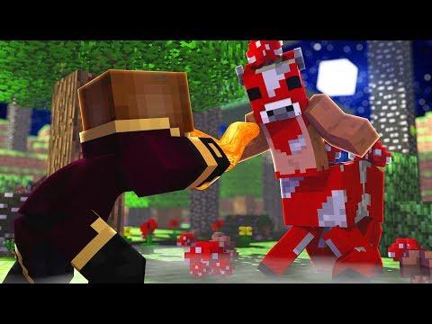 Minecraft Thaumcraft, BRUXO VS MINOSHROOM! Origem #71