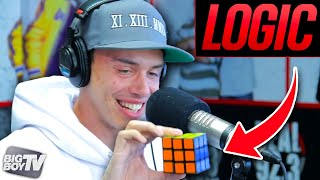 Video Rapper Logic Solves A Rubiks Cube During Freestyle! | BigBoyTV download MP3, 3GP, MP4, WEBM, AVI, FLV Juli 2018