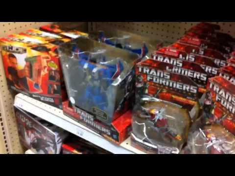 """TRANSFORMERS INSIDER: ToysRus aisle Transformer WWE action figures store """"grims toy show"""""""