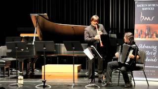 Corrado Giuffredi Plays Sajevitch's For Giora Feidman   Backun Live