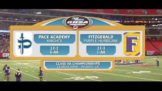 Pace Academy vs. Fitzgerald