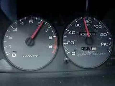 96 Acura Integra Gsr 0 70 Mph Stock Motor