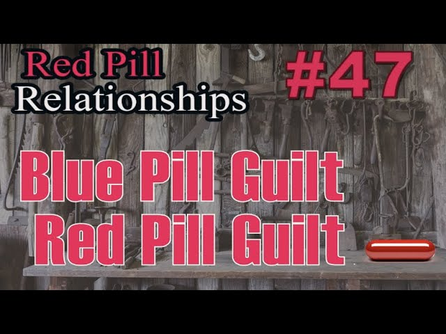 Blue Pill Guilt - Red Pill Guilt --  Red Pill Relationships #47