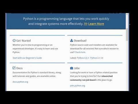 Python For Children ||  Lession 1 - Introduction