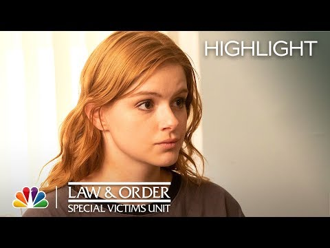 Benson Helps Raegan Realize Her True Strength - Law & Order: SVU (Episode Highlight)