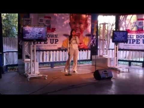 Jennifer Garcia singing Before he cheats by Carrie Underwood