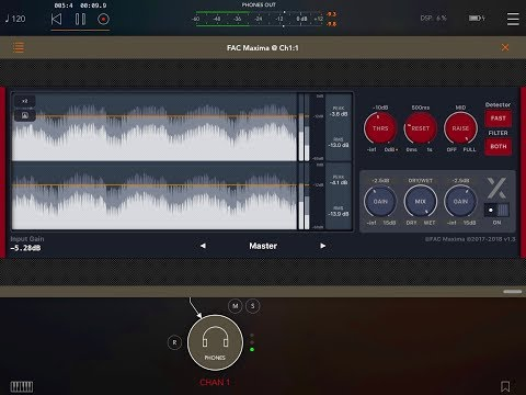 FAC MAXIMA - Now With Enhanced Metering Options - iPad Demo