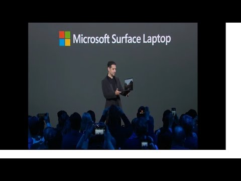 Microsoft unveiled the new Surface Laptop and the Windows 10 S