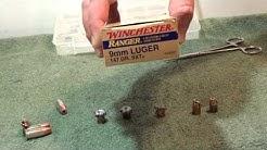 9mm 147 gr SXT ballistic gel test
