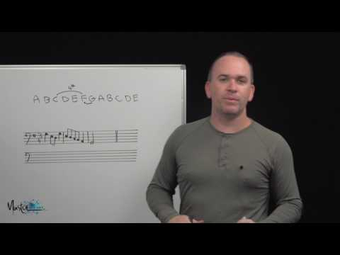 124 How to transpose music using intervals