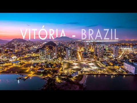 CIDADE DE VITÓRIA-ES   Vitória Espírito Santo Brasil - Pontos turísticos   Aerial View
