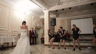 Выход невесты неожиданно