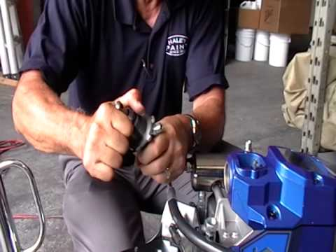Graco airless sprayer rebuild by Brian Shumack
