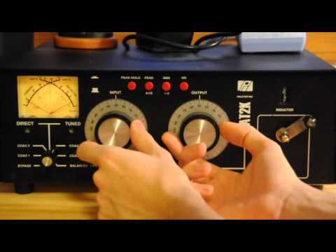 Ham Radio Tutorial - How To Use An Antenna Tuner