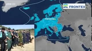 Mit offenen Karten EU, Migranten und Grenzen   gekürzt mit Arbeitsaufträgen