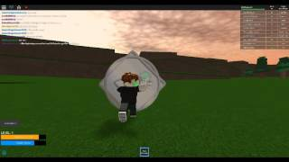 Roblox: Elemental Wars #1: ARC OF TIME!!!