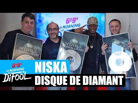 Youtube: Niska – La remise de son disque de diamant #MorningDeDifool