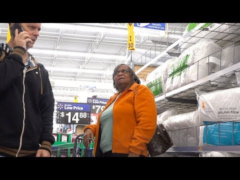 PARANOID PRANK - Freaking People Out At Walmart