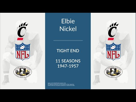 Elbie Nickel: Football Tight End