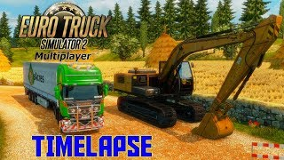 A NORMAL DAY IN THE SERVER | Euro Truck Simulator 2 Multiplayer | Timelapse | Episode 2