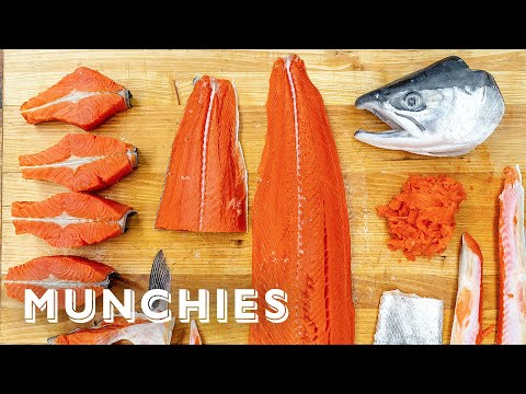 How To Fillet A Fish With An Alaskan Fisherman